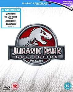Coffret Blu-ray Jurassic Park Collection 1 à 4