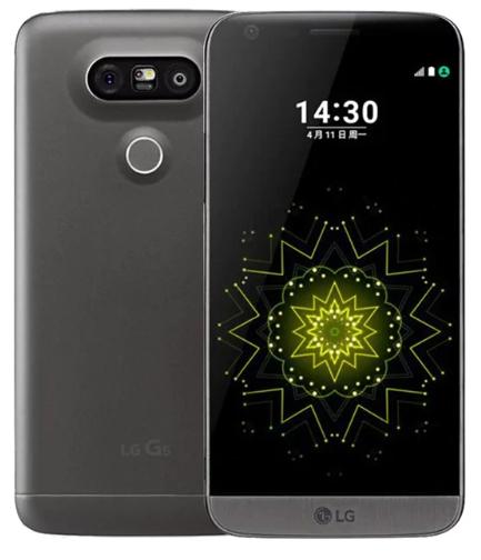 """Smartphone 5.3"""" LG G5 F700 (SnapDragon 820, 4 Go de RAM, 32 Go, version coréenne, différents coloris) - reconditionné"""