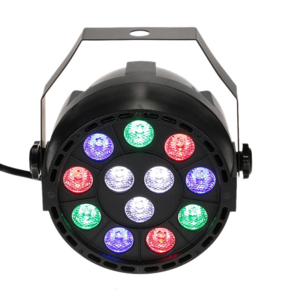 30% de réduction sur l'éclairage stroboscopique Lixada DMX-512 RGB (vendeurs tiers)