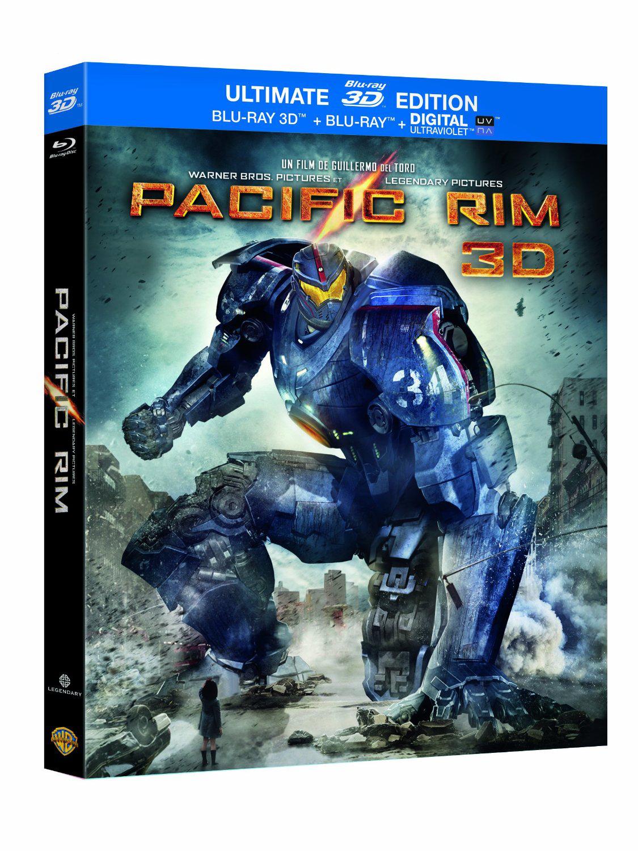 Promotion sur les coffrets Blu-ray 3D - Ex: Pacific Rim (Combo Blu-ray 3D + Blu-ray 2D)