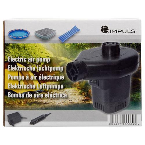 Pompe à air électrique 60w (adaptateur 230+12v inclus)