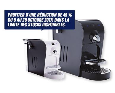 Machine à capsules de café Martello (Frontaliers Suisse)