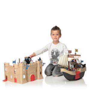 Super château et pirates + 40 accessoires Redbox