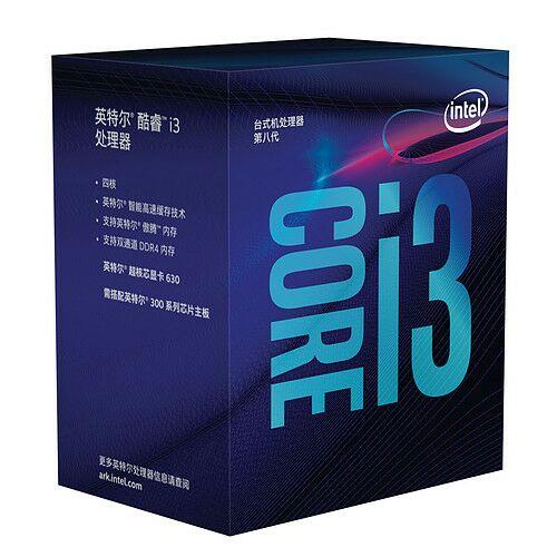 Sélection de processeur Intel en promotion - Ex: Processeur Intel Core i3-8100 (3.6 GHz)