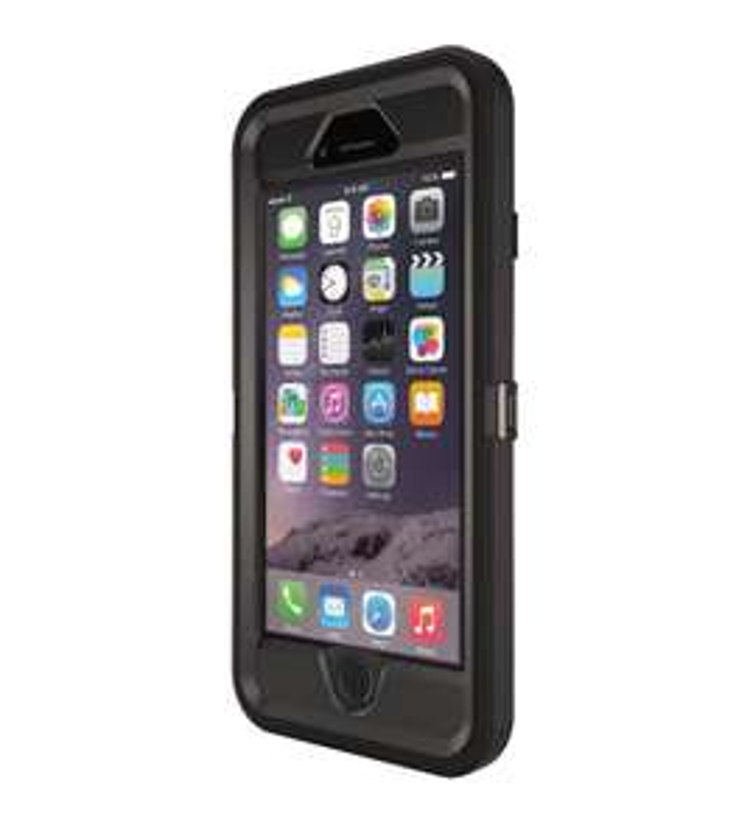 coque Anti-choc OtterBox Defender Noir pour iPhone 6