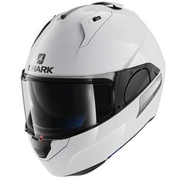 Casque de moto Shark Evo-One Blank - blanc (du S au XL)