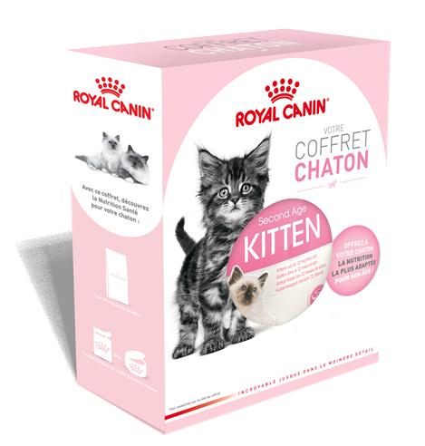 Coffret chaton Royal canin gratuit (au lieu de 5.90€)