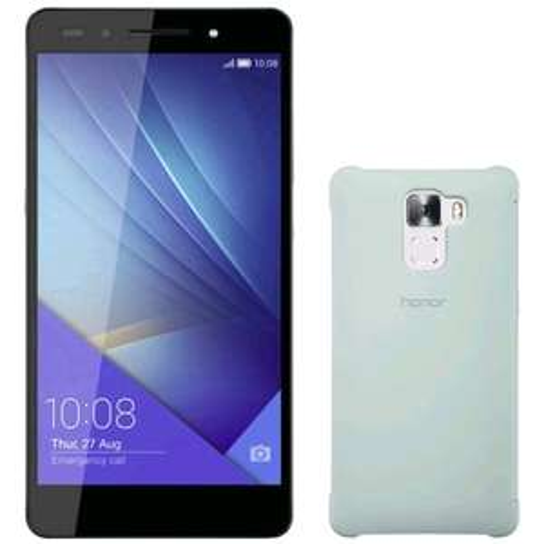 "Smartphone 5.2"" Honor 7 Premium (full HD, Kirin 935, 3 Go de RAM, 32 Go, noir ou or) + étui à rabat"