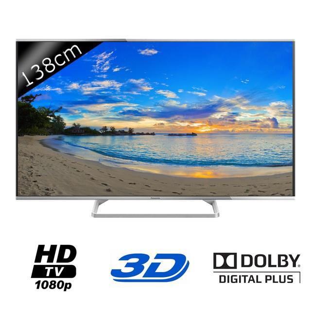 """TV 55"""" Panasonic - TX-55AS640E - 139cm Full HD 3D"""