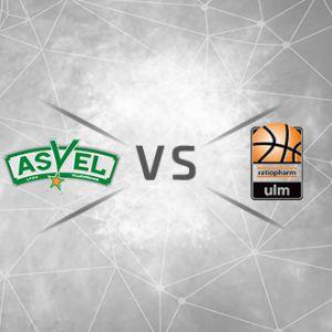 Billet gratuit pour le match de basket-ball ASVEL / Ratiopharm ULM - le mardi 17 octobre (20 h 30), à Villeurbanne (69)