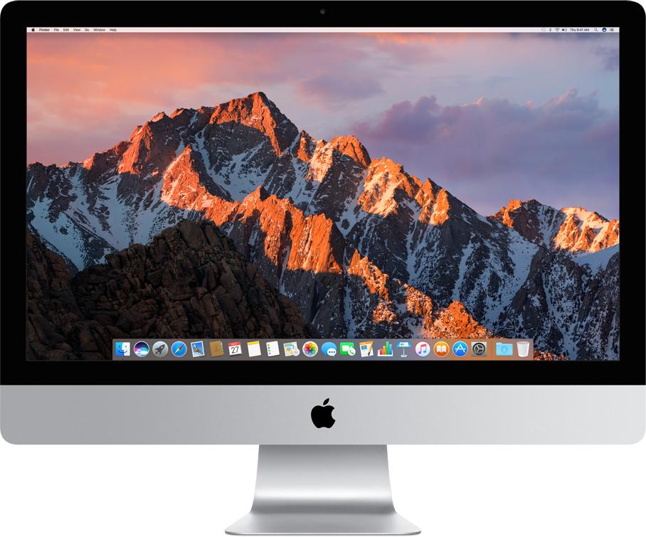 """PC tout-en-un 27"""" Apple iMac Retina 5K - i5 3.4 GHz, 8 Go de Ram, 1 To (Frontalier Suisse)"""