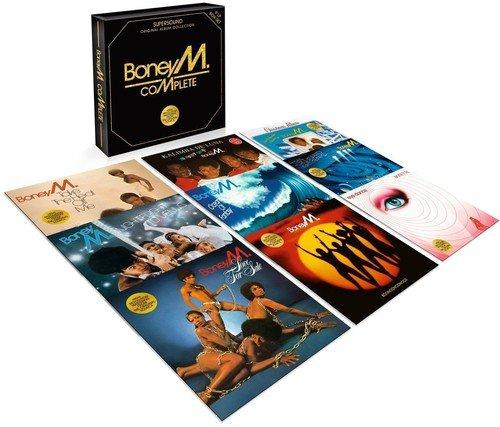 Coffret 9 vinyles Intégrale Boney M