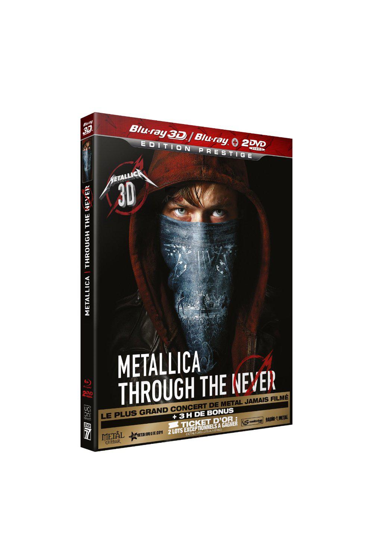 Coffret Blu-Ray 3D Metallica : Through the Never - Édition Prestige