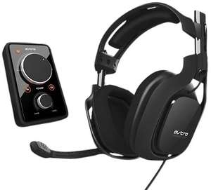 Bundle Astro Gaming   Casque Gaming A40 Noir + Ampli Mixamp Dobly 7.1