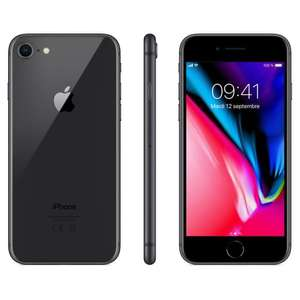 "[Clients Sosh] Smartphone 4.7"" Apple iPhone 8 - 2 Go de RAM, 64 Go, noir"