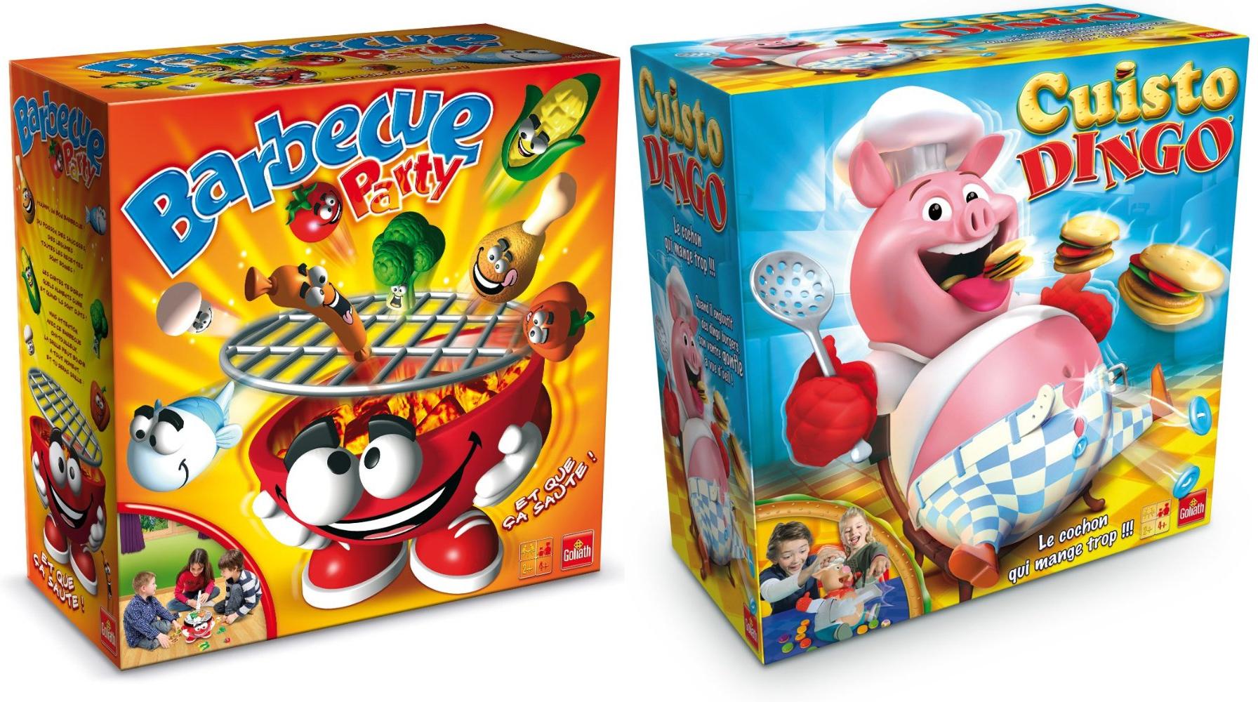 2 jeux de société Goliath au choix parmi la sélection (avec ODR 30€)