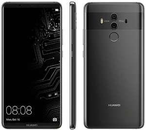 "Smartphone 6.1"" Huawei Mate 10 Pro - Double SIM, RAM 6 Go, ROM 128 Go, Titanium Grey (Frontaliers Suisse)"