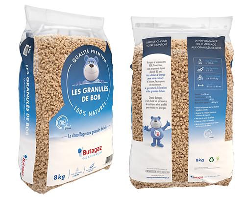 Un sac de granulés Bob de Butagaz gratuit - 8Kg
