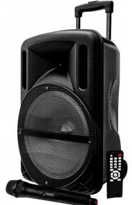 enceinte portable 10 mydeejay djoon10 led avec micro sans fil 500w bluetooth usb sd. Black Bedroom Furniture Sets. Home Design Ideas