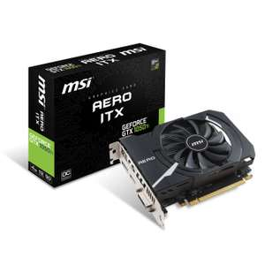 Carte Graphique ITX MSI GeForce GTX 1050 Ti OC - 4 Go DDR5