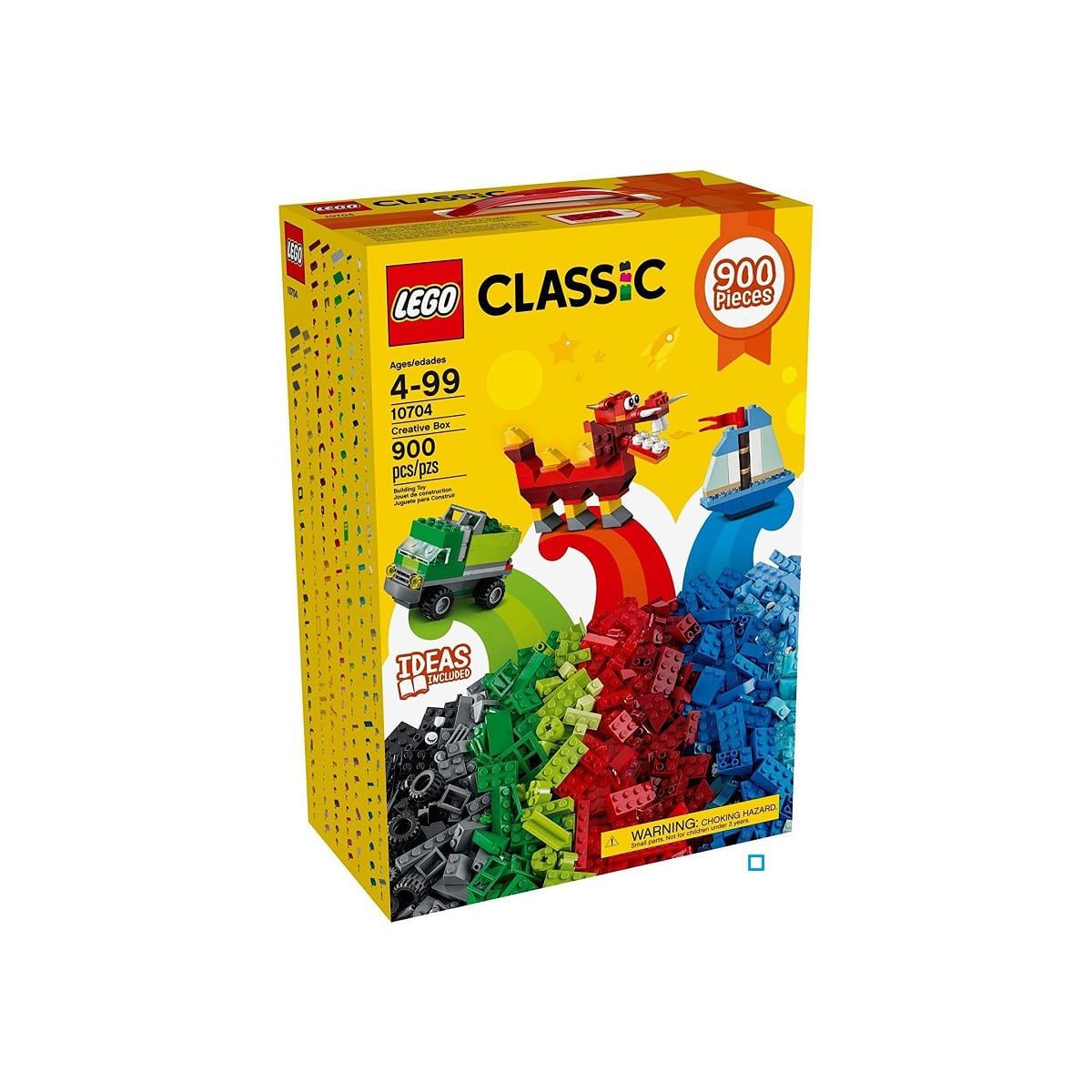 """Lego Classic 10704 """"Grande Boîte de Construction"""" - 900 pièces (Auchan, Carrefour, Rue du commerce)"""
