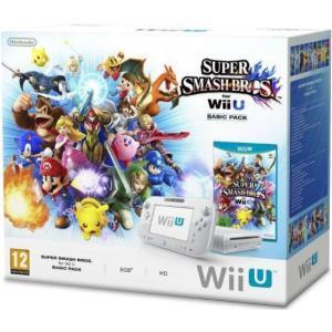 Console Nintendo Wii U Pack Basic Super Smash Bros