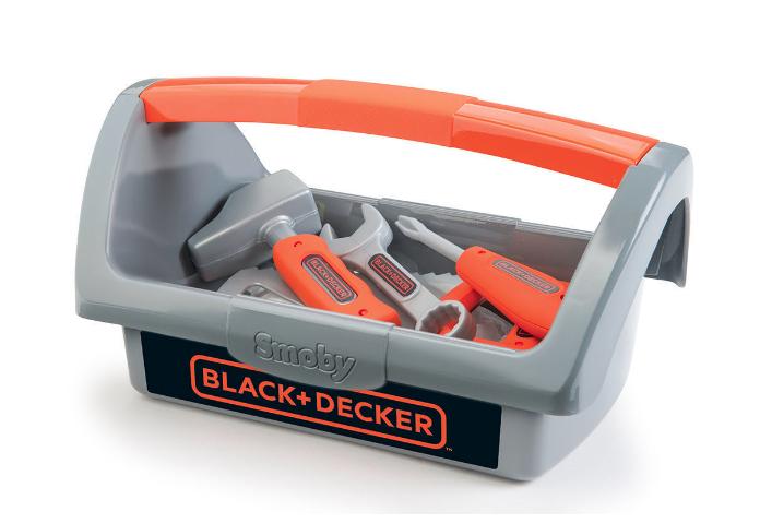 Jouet Boite à outils avec 6 outils Smoby Black & Decker