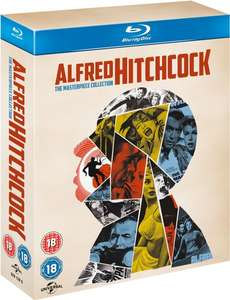 Coffret Blu-ray Alfred Hitchcock (Import UK) - The Masterpiece Collection (14 Films)