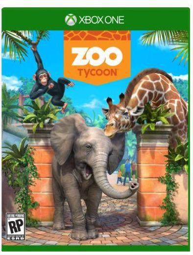 Zoo Tycoon (boite) sur Xbox One