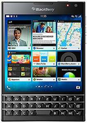 "Smartphone 4.5"" BlackBerry Passport Noir - 32 Go ROM, 3 Go RAM, QWERTZ"