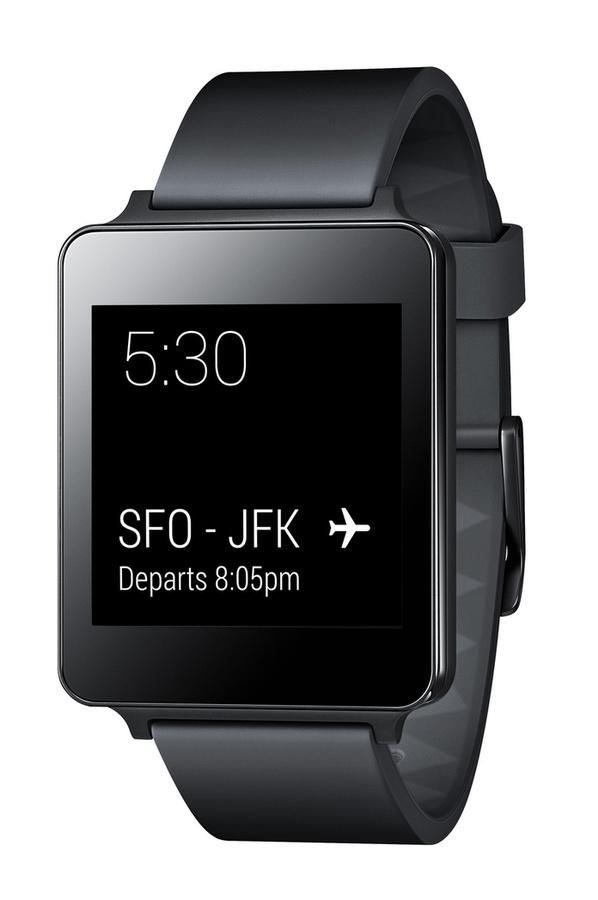 Montre connectée LG G Watch