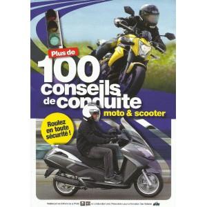 Un guide de conduite offert parmi une sélection pour tout abonnement au magazine Moto Mag