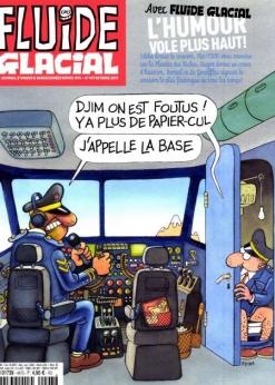Abonnement papier au magazine Fluide Glacial pendant 1 an (12 numéros)