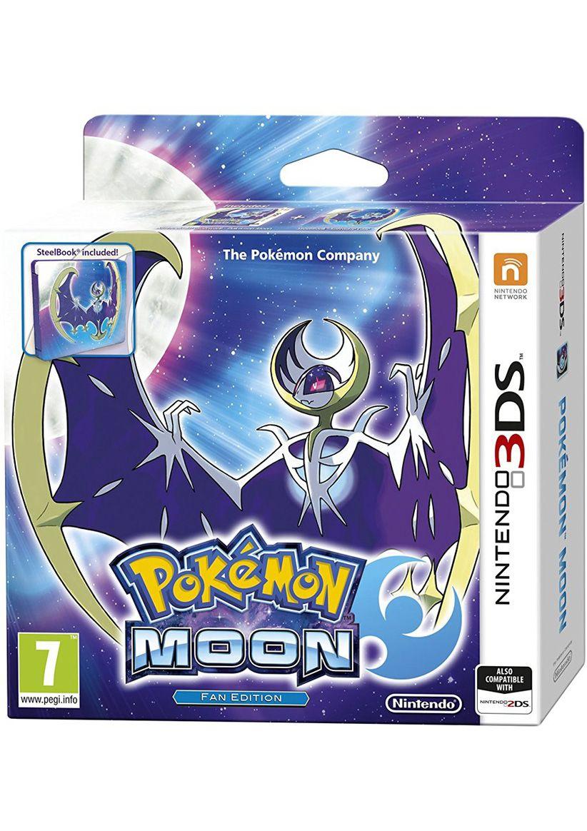 Jeu 3DS Pokémon Lune + Steelbook + bracelet