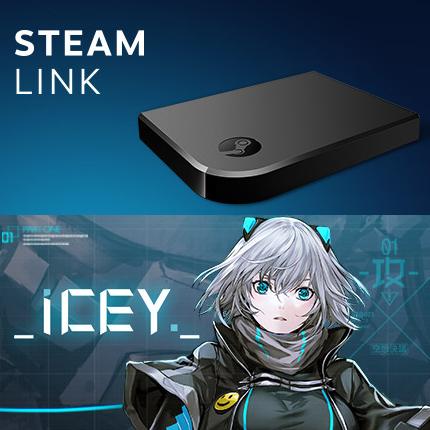 Boitier Multimedia Steam Link + Jeu Icey sur PC (Dématérialisé - Steam)