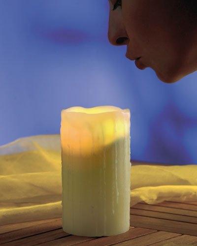 Bougie LED à souffler - 15 cm (frais de port inclus)