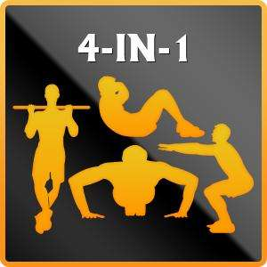 "Application de remise en forme ""4-in-1 Fitness"" gratuite sur Windows Phone (au lieu de 5.99€)"