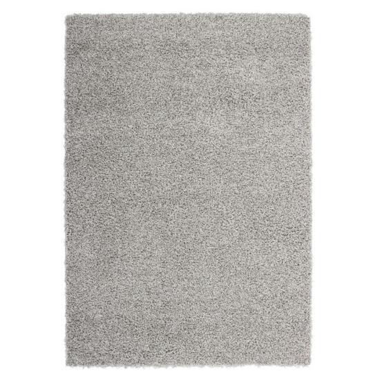 Tapis de salon Trendy Shaggy gris - 120x160 cm