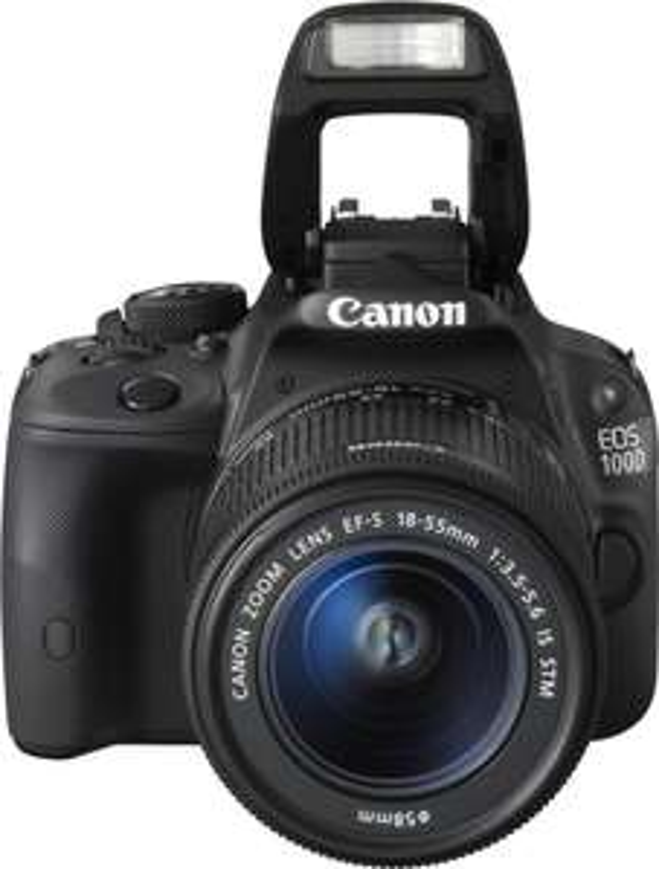 Reflex Canon EOS 100D avec objectif EF-S 18-55mm IS STM