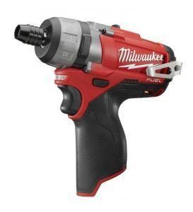 """Visseuse-perceuse Brushless Milwaukee M12 CD-0 - 1/4"""" (machine seule)"""
