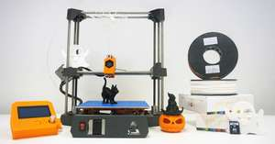 imprimante 3d dagoma discoeasy200 en kit pack halloween imprimante cran 2 bobines carte. Black Bedroom Furniture Sets. Home Design Ideas