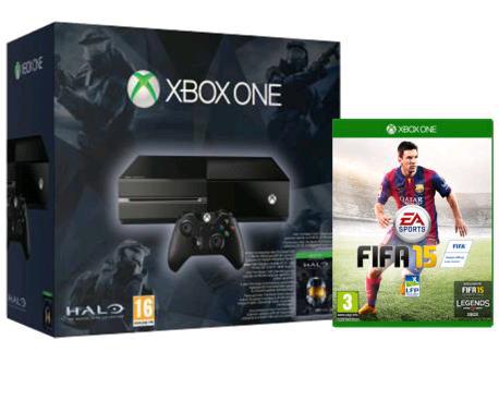 Console Xbox One + Halo : Masterchief Collection + FIFA 15 ou Forza Horizon 2