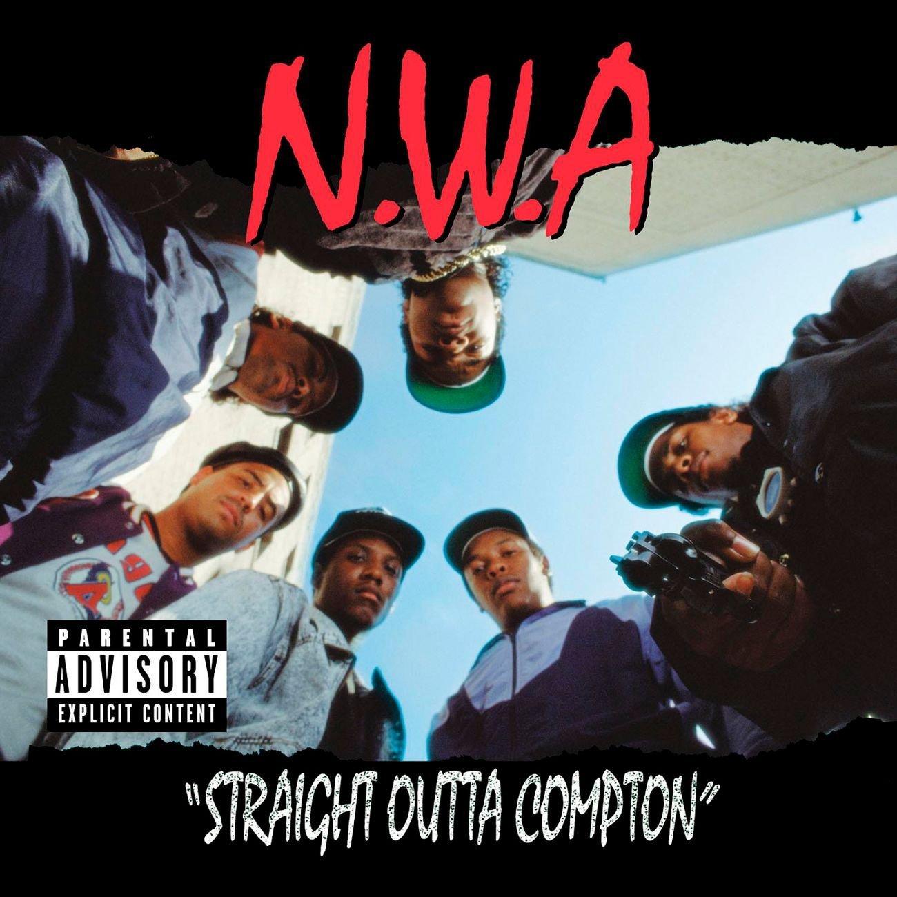 Album vinyle N.W.A Straight Outta Compton