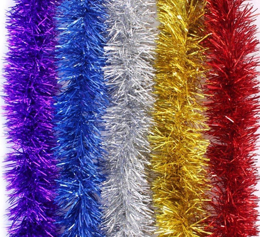Lot de 5 guirlandes multicolore effet brillant (vendeur tiers)