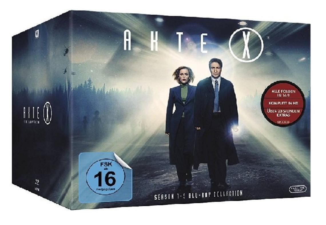 Coffret Blu-ray X-Files, l'intégrale des saisons 1 à 9