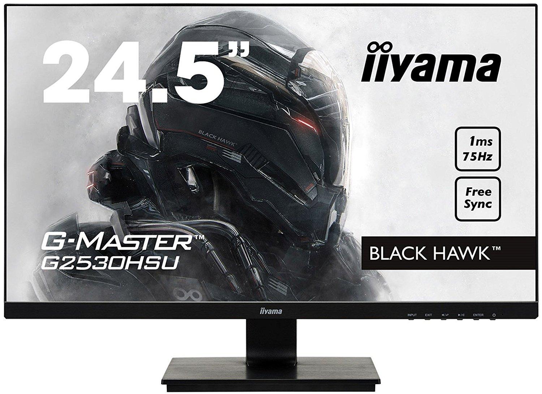 "15% de réduction sur une sélection d'écrans Iiyama - Ex: Écran PC 24.5"" Iiyama G-Master G2530HSU-B1 - FreeSync"