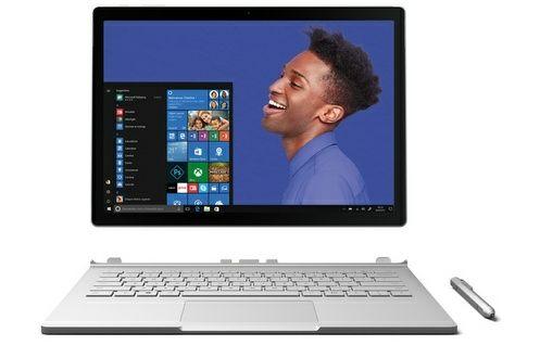 "PC portable hybride 13.5"" Microsoft Surface Book - i5-6300U, 8 Go RAM, 256 Go SSD"