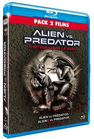 Blu-ray Alien vs. Predator - L'intégrale de la saga (2 Films)