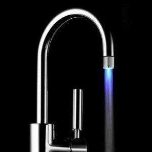 Embout mousseur pour robinet RC F01 + LED (bleu)