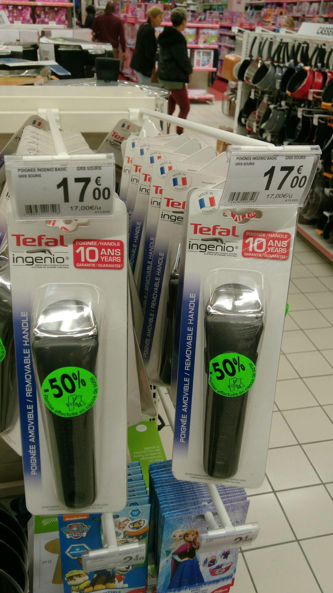 Poignée Tefal Ingenio - Auchan Macon (71)